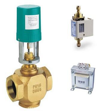 压差旁通阀中央空调水处理系统中供暖运用