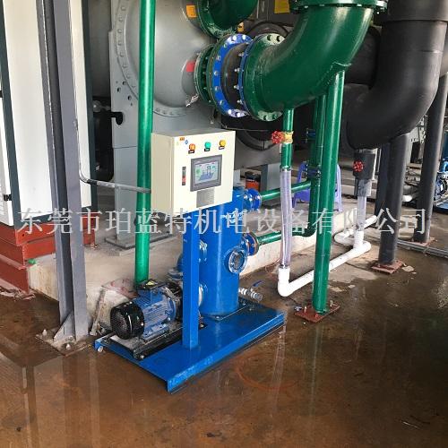 冷凝器自动清洗设备