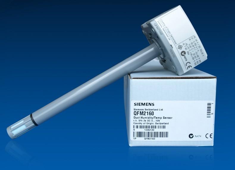 西门子风管温湿度传感器QFM2160