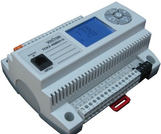 Synco200功能• 二级防冻保护(调节/2位)或防冻温控器(供热顺序发送100 % 输出, 风机关闭故障继电器)。 (RLU220 仅可用于显示) • 控制泵的运行,外界低温情况下常开,根据负载顺序控制器打开。 (不适用于RLU220) 。泵的周期激活(盘泵) • 控制一个模拟输出不适用于RLU202)。外部设定值可调节(控制器被用作为一个纯信号转换器) 。zui小和zui大调节,可反转。在外部低温环境下的zui小限制 • 用zui大经济转换器控制混风阀或热回收