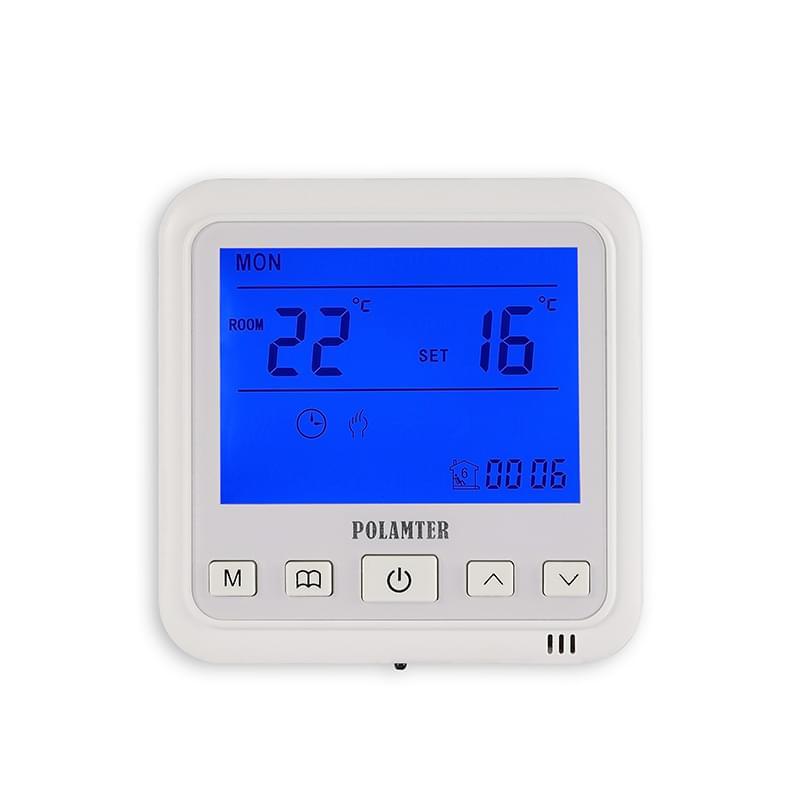 当采暖设备温度超过设定zui高温度值时,温控器自动停止加热,保护电