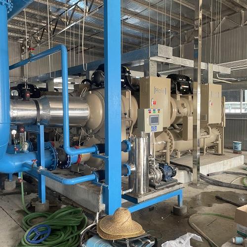 中央空调冷凝器自动清洗解决方案