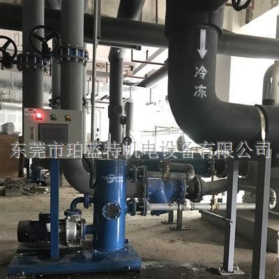 中央空调冷凝器铜管胶球自动清洗装置